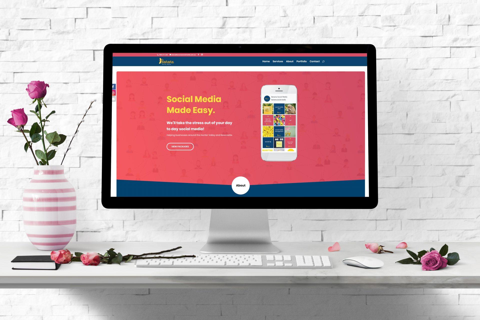 Website Design - Banana Social Media Branxton NSW Hunter Valley