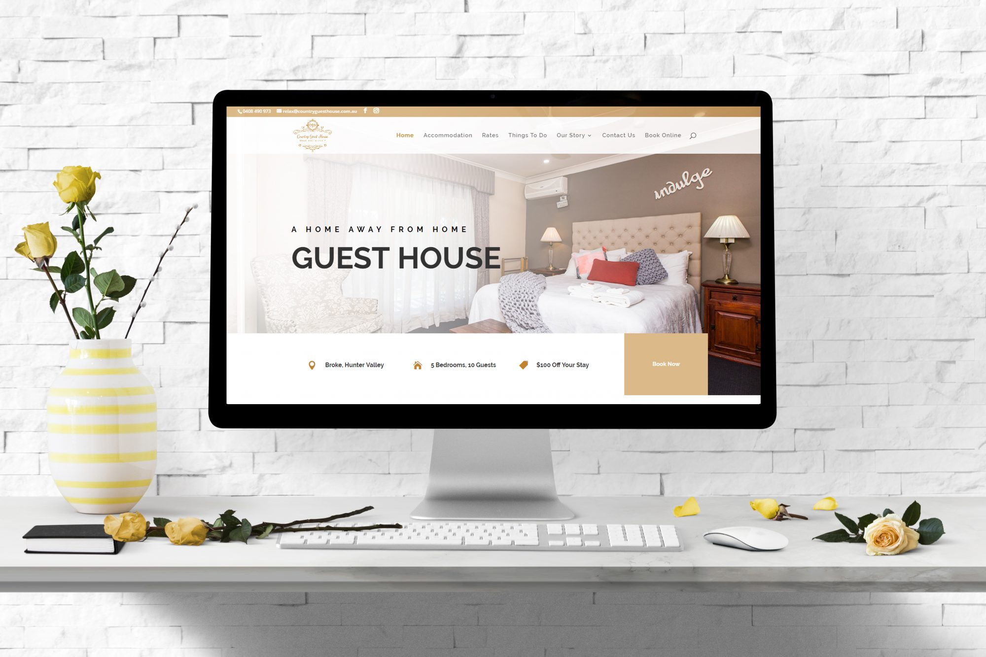 Website-Design-Country-Guest-House-NSW-Hunter-Valley