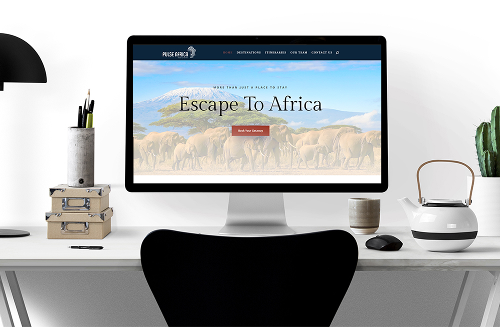 Pulse Africa - Website Design Hunter Valley Newcastle