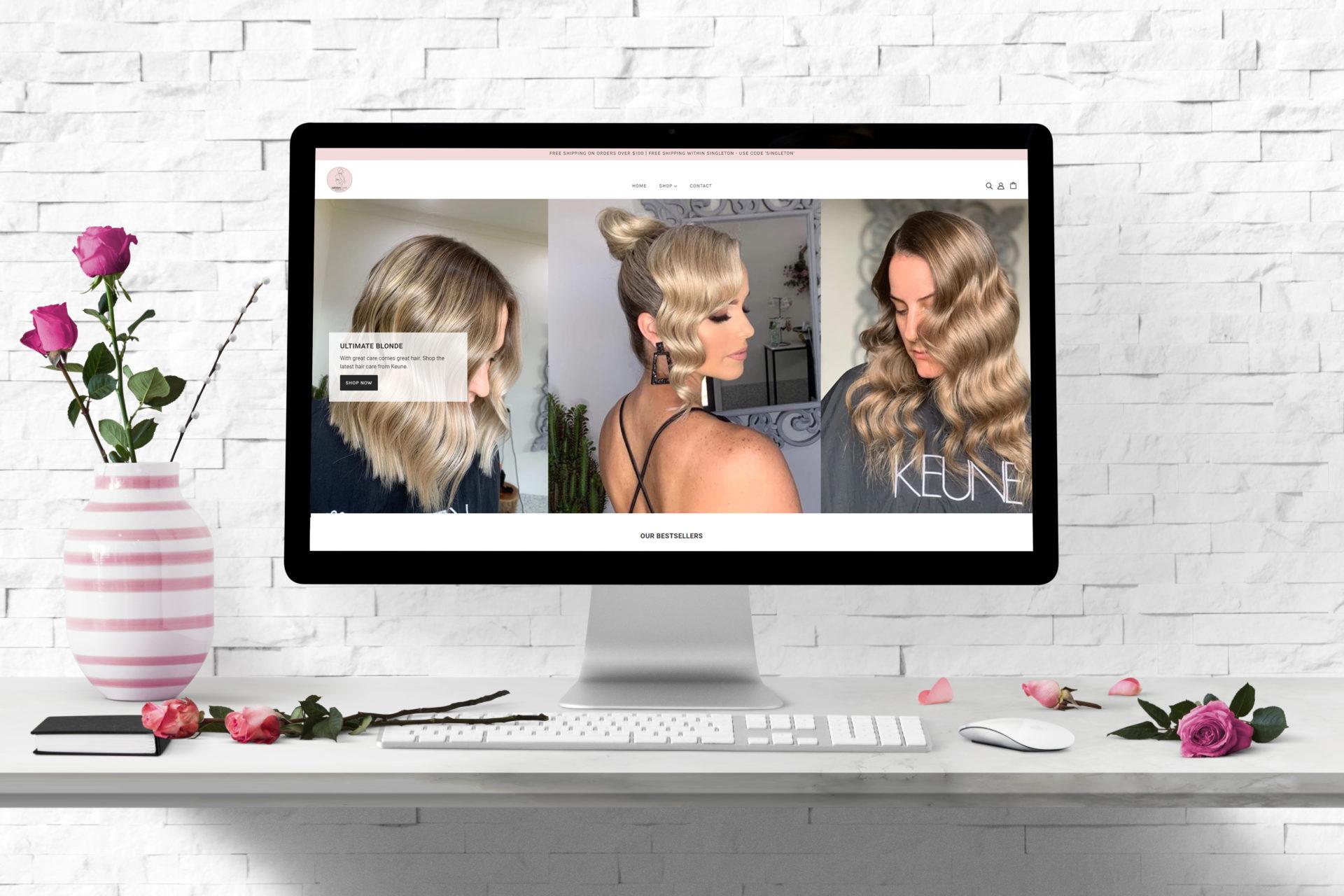 Website-Design-Meraki-Hair-Artists-by-Annie-Think-Goat-NSW-Hunter-Valley
